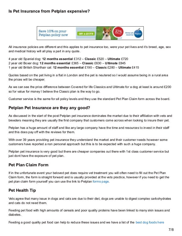 petplan pet insurance review-pet plan vet fees covered - Mcfurrys.com