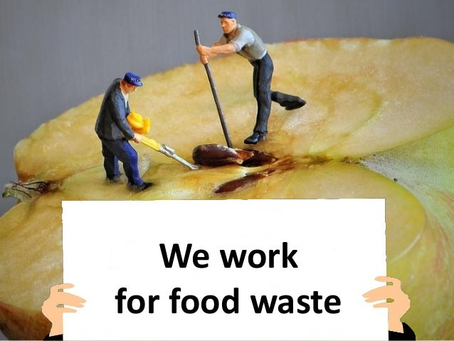 We work for food waste
