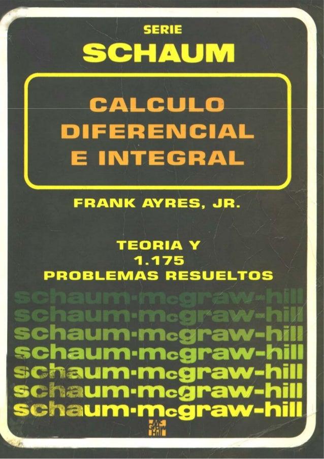 Mc graw hill   calculo diferencial e integral - teoria y 1175 problemas resueltos(2)