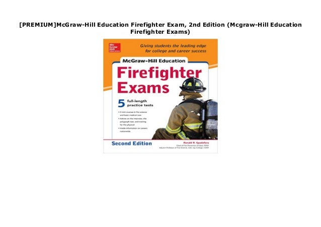 2nd Edition McGraw-Hill Education Firefighter Exam