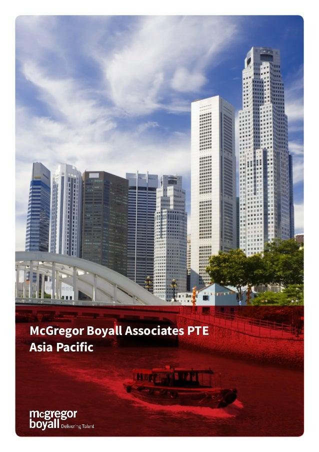McGregor Boyall Associates PTE Asia Pacific