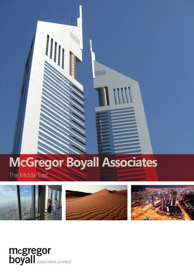 Associates Limited The Middle East McGregor Boyall Associates