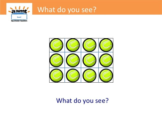 What do you see?What do you see?