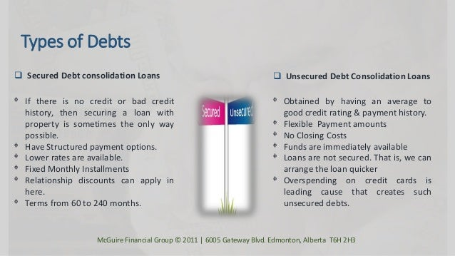 Loans For Bad Credit With Monthly Payments >> Debt Consolidation Programs