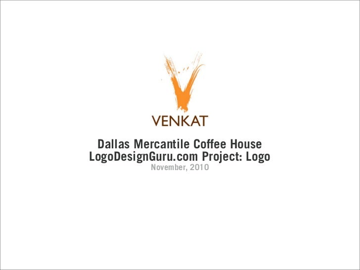 Dallas Mercantile Coffee HouseLogoDesignGuru.com Project: Logo          November, 2010