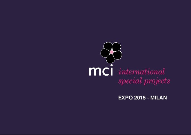 1 international special projects EXPO 2015 - MILAN