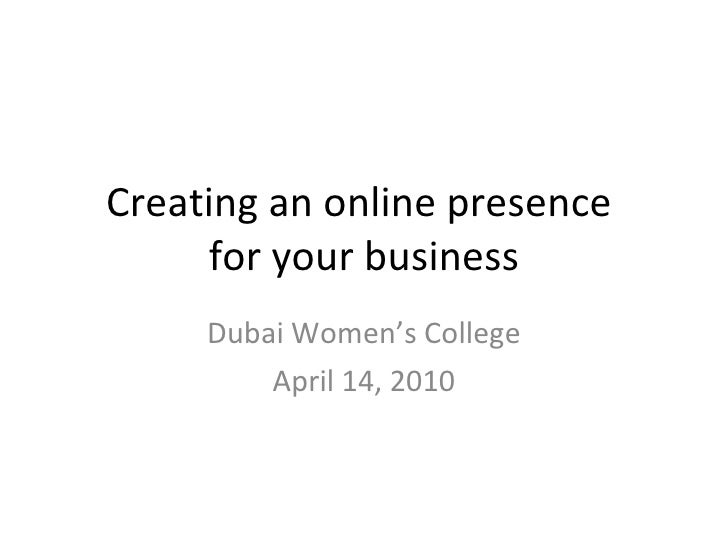 Online Business by example: Heliotrope.ca Ross McKegney Dubai Women's College April 14, 2010