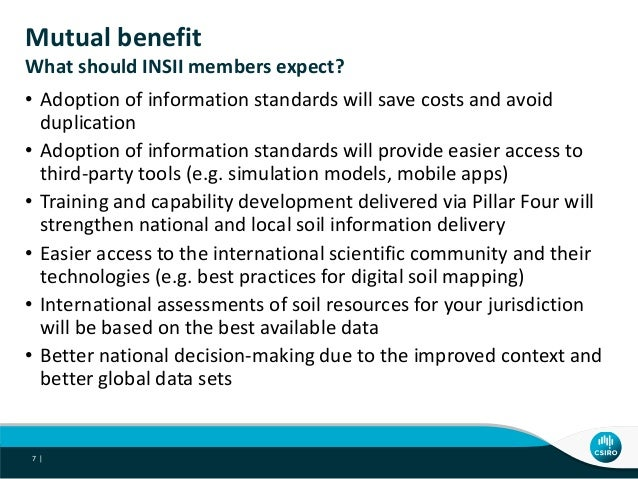 Stakeholders and synergies of the global soil information for Soil information in english