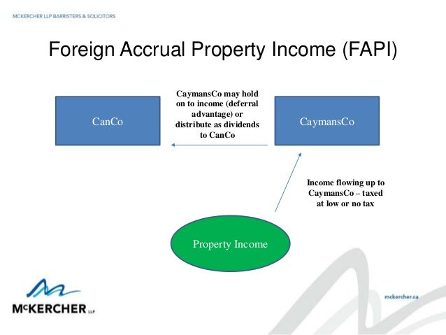 Foreign Property Tax Cra