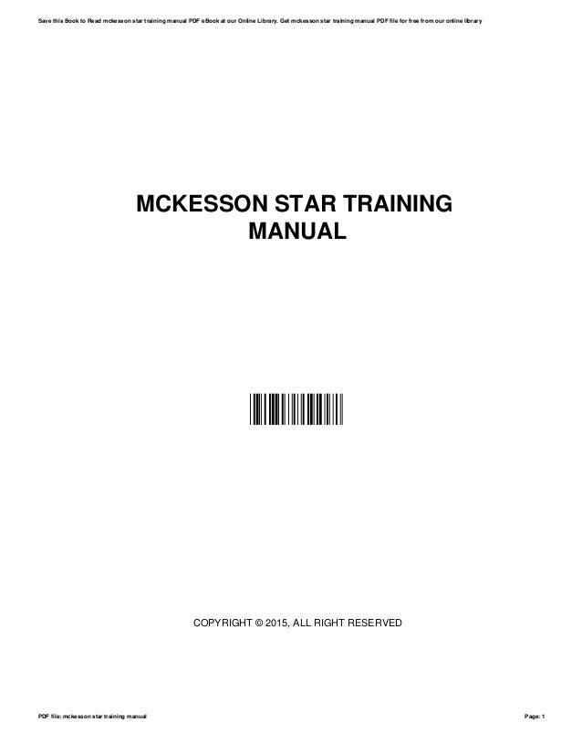 mckesson star training manual rh slideshare net McKesson Star Patient Accounting McKesson Star Jobs