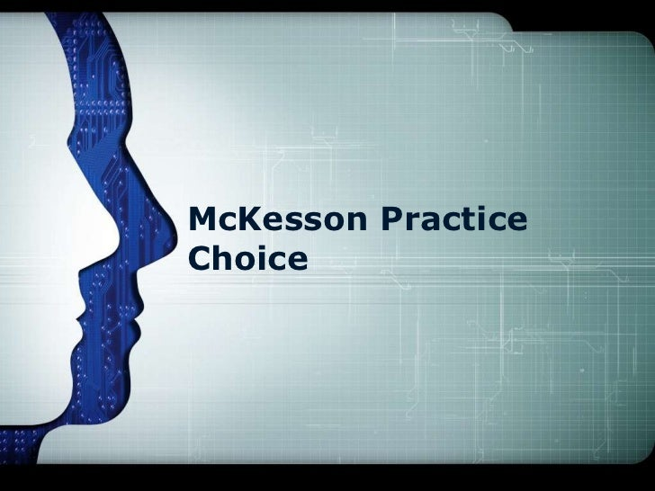 McKesson PracticeChoice