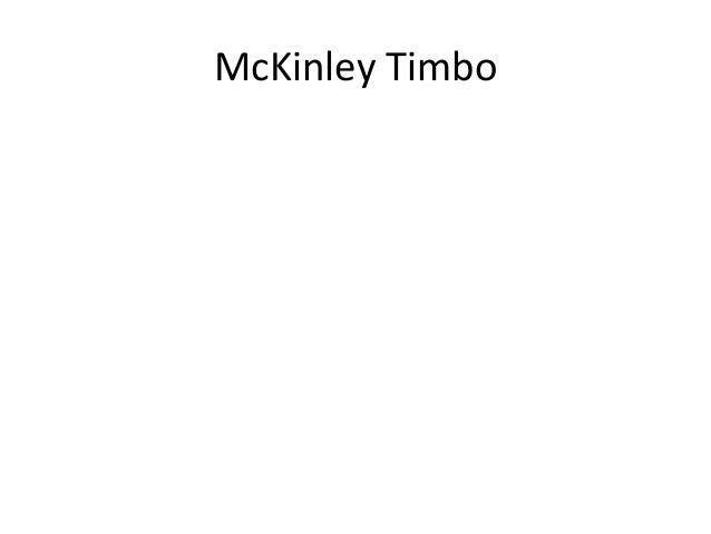 McKinley Timbo