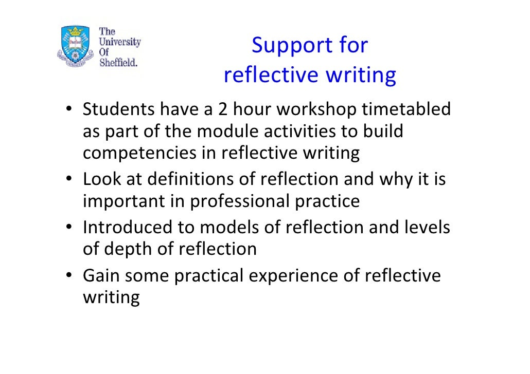 a reflective writing of the module I have try to clarify and address with regard to the module derivative in past 8 weeks as part of  more about the importance of reflective writing for.