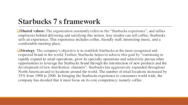 starbucks mc kinsey 7 s framework model, Powerpoint templates