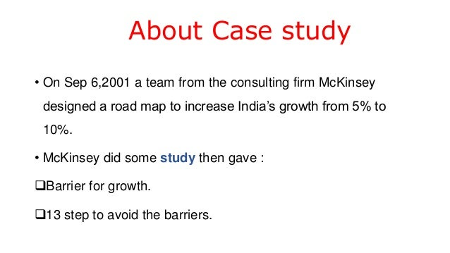 mckinsey case studies interviews