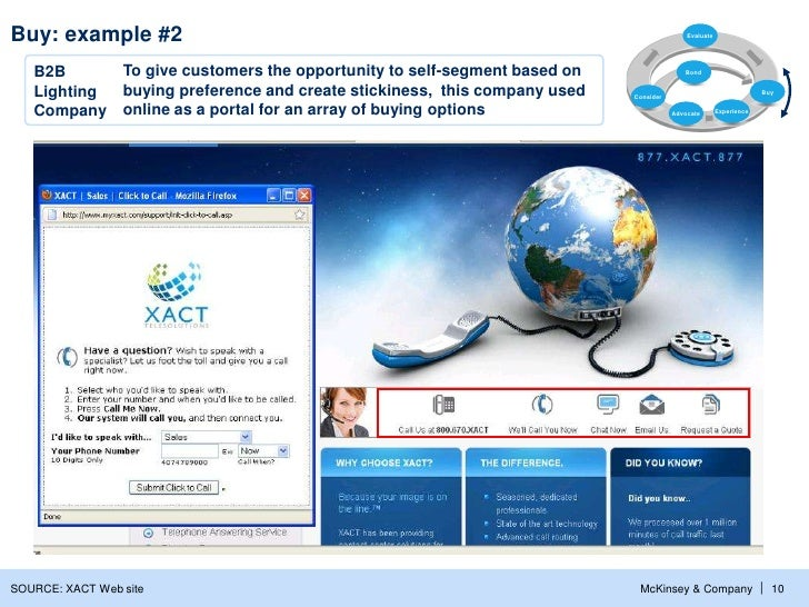 Buy: example #2                                                                         Evaluate   B2B      To give custom...