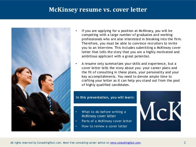 mckinsey management cover letter consulting sample resume sample 2