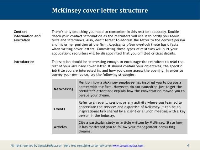 cover letter mckinsey internship