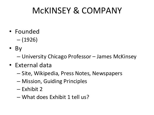 mckinsey & company managing knowledge and learning ppt