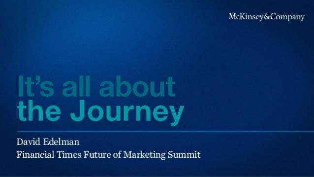 Mckinsey it's all about the customer journey Sep 2010