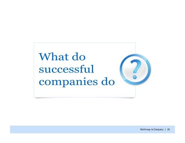 McKinsey & Company   | 22