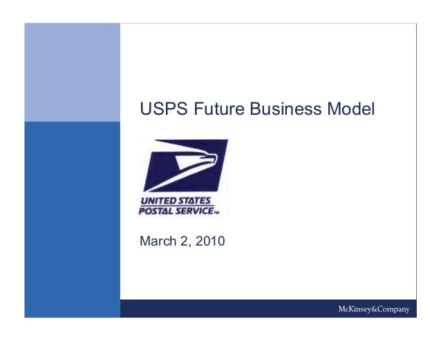 USPS Future Business Model March 2, 2010