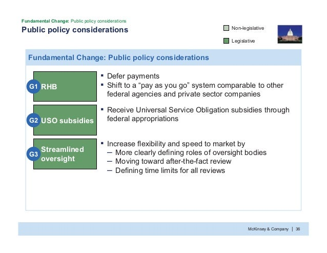 McKinsey & Company 36| Public policy considerations Fundamental Change: Public policy considerations Fundamental Change: P...