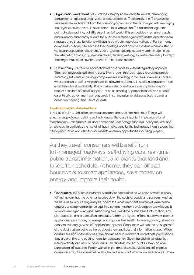 mckinsey internet of things pdf