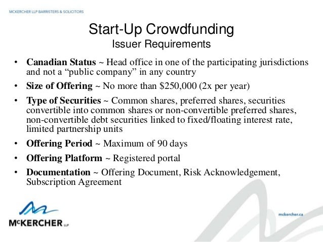 Equity Crowdfunding Bridging The Gap In Start Up Financing By Josep