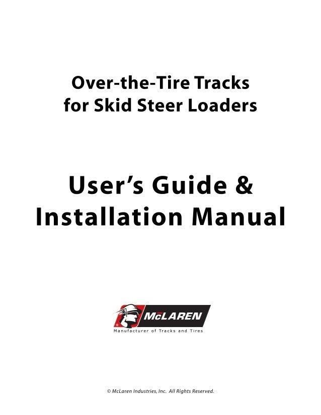 McLaren OTT Tracks Installation Manual