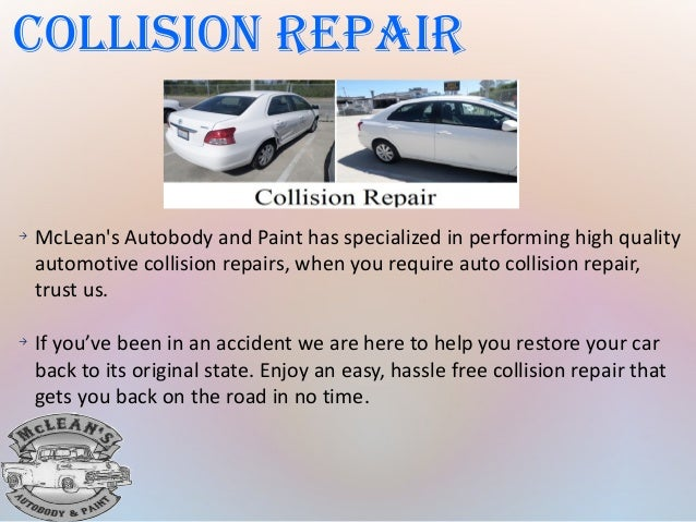 Mc lean's Autobody and Paint new Pdf