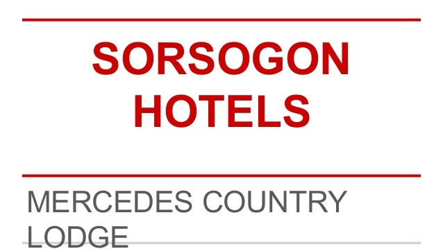 SORSOGON HOTELS MERCEDES COUNTRY LODGE