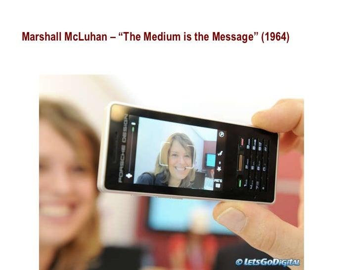 "Marshall McLuhan – ""The Medium is the Message"" (1964)"