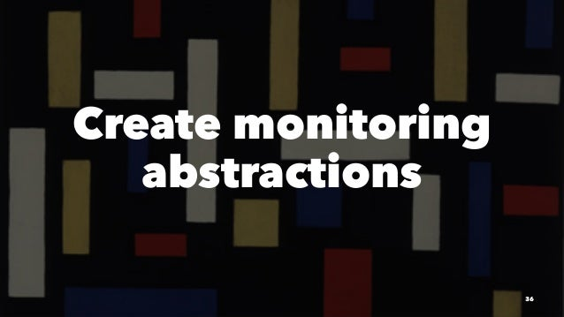 Create monitoring abstractions 36