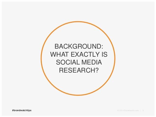 Brandwatch Masterclass: Using Brandwatch for Market Research
