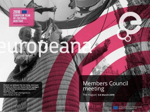 Members Council meeting The Hague| 5-6 March 2019