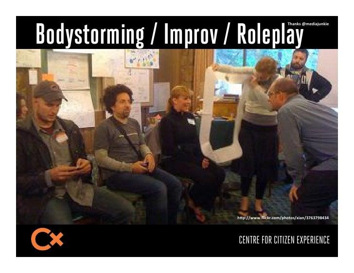 Bodystorming / Improv / Roleplay                                               L!2&;9-M*/032N8&;3/-                       ...