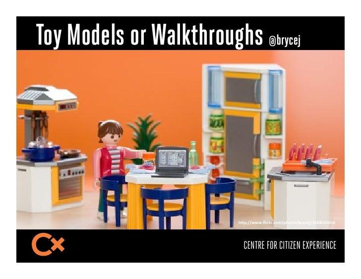 "Toy Models or Walkthroughs @brycej                          !""#$%%...+D3,;)+,(*%#!(1(9%O)4,/N%PHQJKPQQBJ-                 ..."