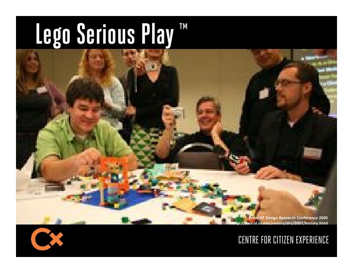 "Lego Serious Play ™                              R)(*-SSL-T/936&-U/9/2),!-?(&/)/&,/-PQQB-                      !""#$%%1)/E+..."