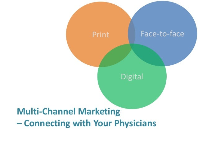 Print Face-to-face Digital Multi-Channel Marketing – Connecting with Your Physicians