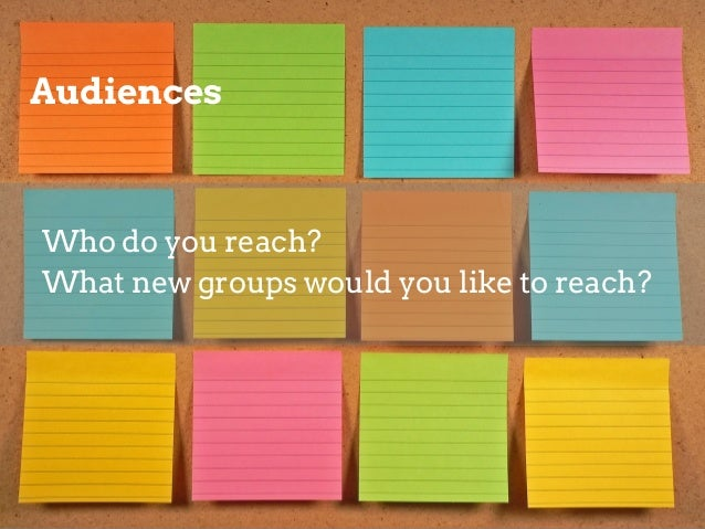 Vision  What sentence would make your heart sing if you heard an audience members say it after an experience with your mus...