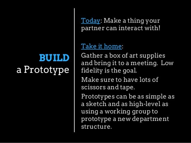 What amazing ideas did your partner come up with?  SHARE  Anything you want to share? How might you use Design Thinking to...
