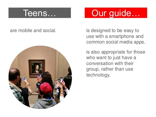 Teens are inspired to return to the Gallery or visit another art museum