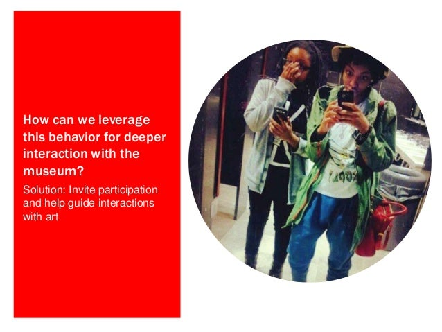 Teens (13-18) Who are visiting the Gallery, particularly those visiting in un-guided groups