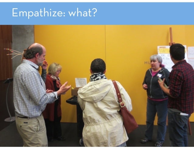 Empathize: methods immersions observations ethnographic interviewing