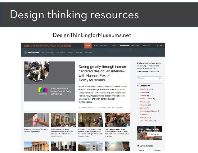 Building Authentic Connections with Visitors through Design Thinking