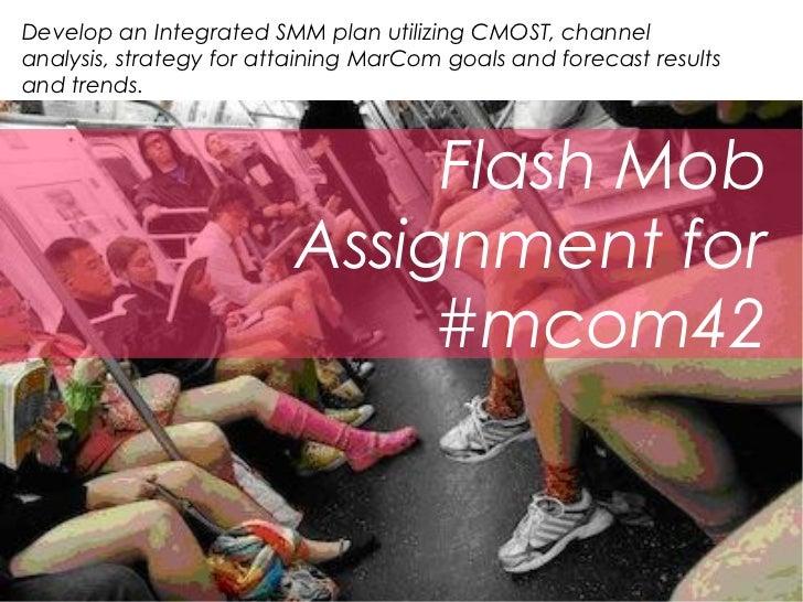Mcom42 rubric - flash mob