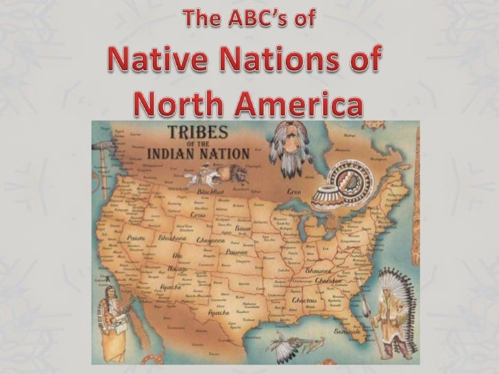 Native Nations of North America Map