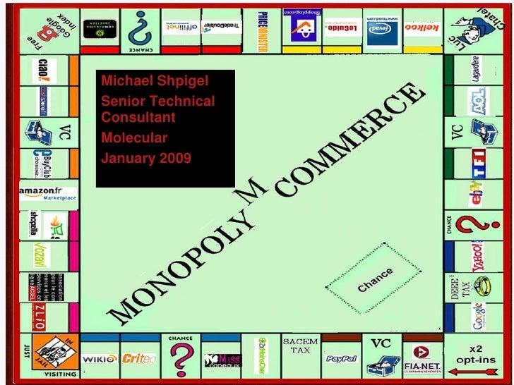 Michael Shpigel                         Senior Technical                         Consultant                         Molecu...