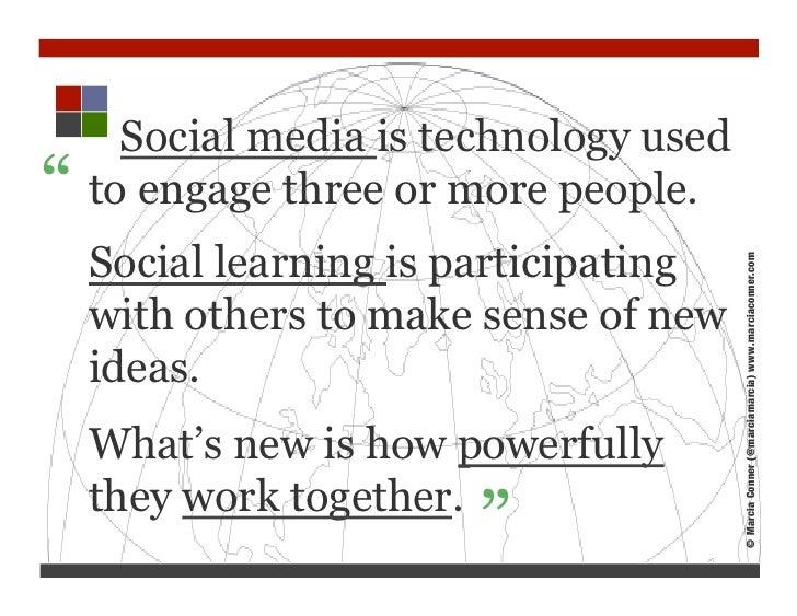 Social Media for Learning Slide 2